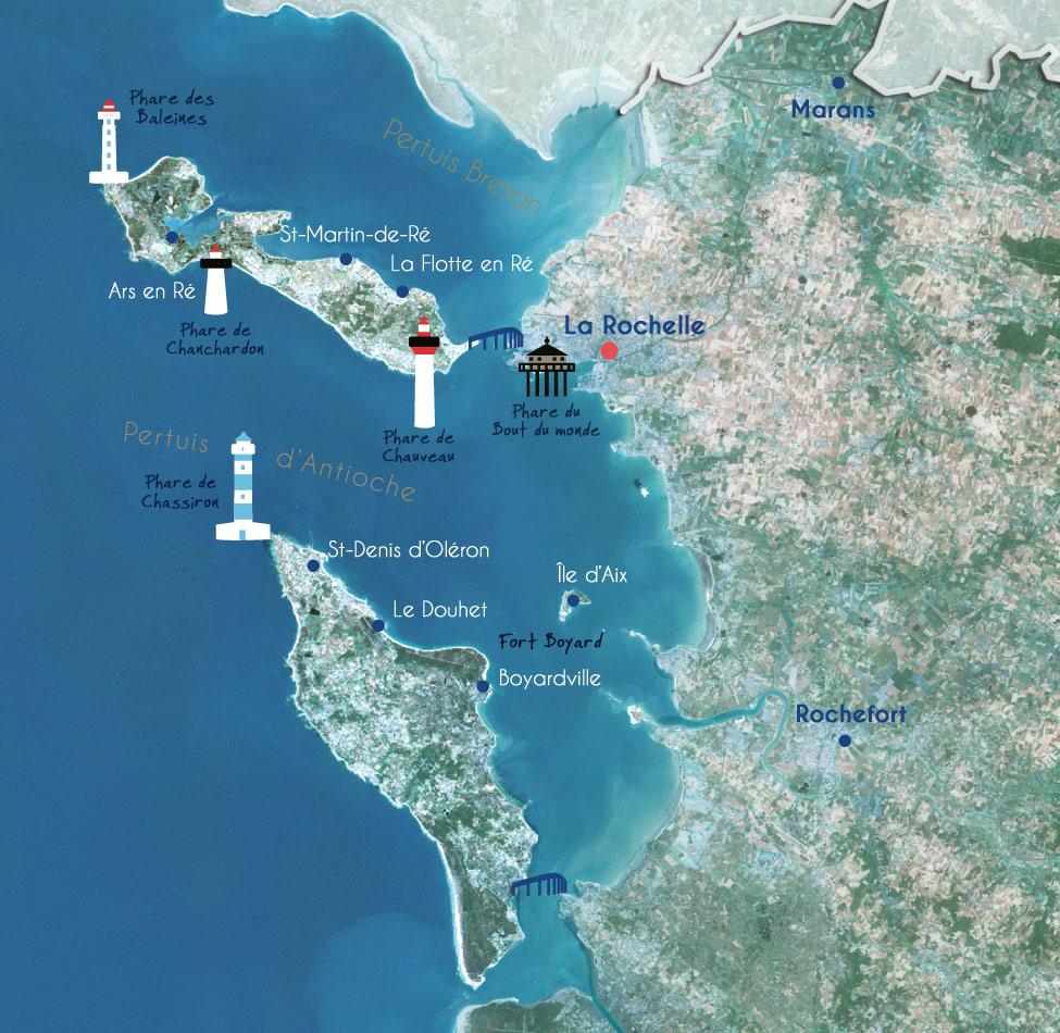 Ports environnants La Rochelle