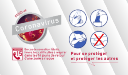 gestes de protection - Coronavirus